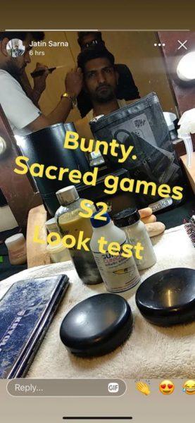 Sacred Games Season 2 look test
