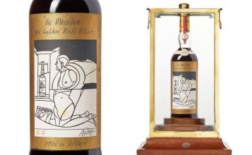 """""""The Macallan"""" Whisky Sold For A World Record Price"""