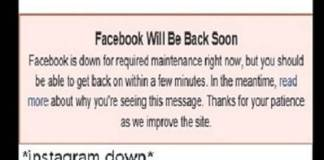 Facebook and Instagram Were Down