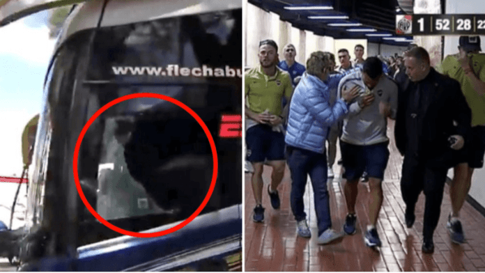 Boca Juniors Bus Attack