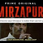 Mirzapur Meme