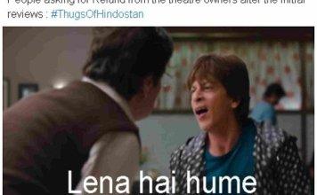 Thugs Of Hindostan meme