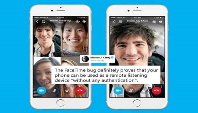 Facetime bug
