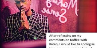 Hardik pandya Apologizes (KL Rahul and Hardik Pandya)