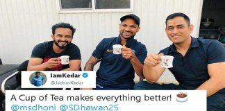 Kedar Jadhav trolls Hardik and Rahul