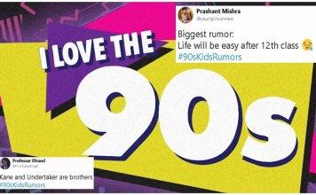 90's Kids Rumors