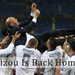 Zinedine Zidane Is Back At Real Madrid
