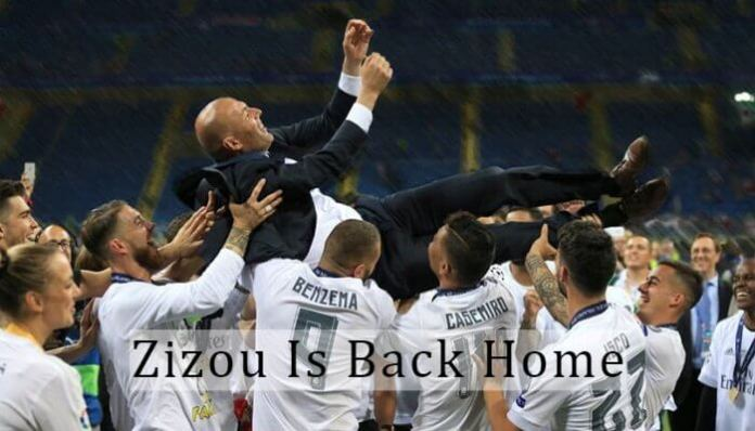 Zinedine Zidane Is Back At Real Madrid