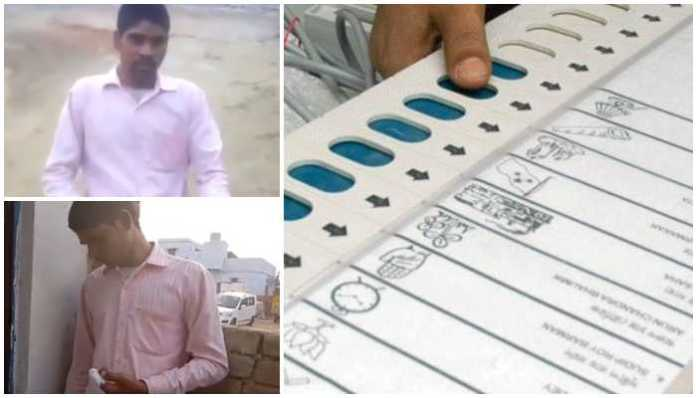 Dalit chopped his finger after wrong vote
