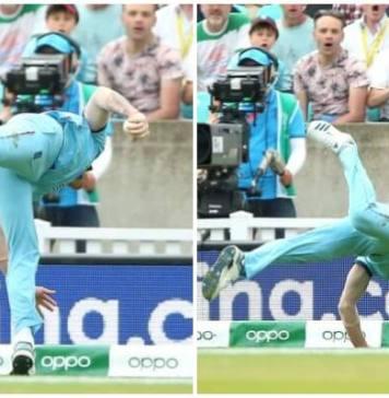Ben Stokes catch
