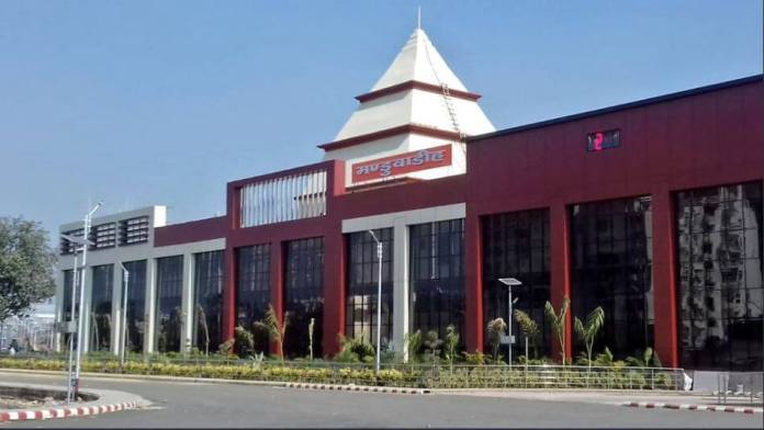 Manduadih Railway Station After Spectacular Makeover