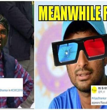 As Mayank Agarwal Replaces Vijay Shankar, Fans Are In For Some Ambati Rayudu Memes