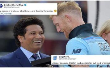 The greatest cricketer of all time - and Sachin Tendulkar