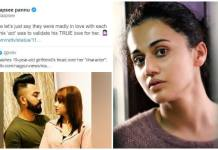 Taapsee Pannu Insensitive, Not Sarcastic tweet