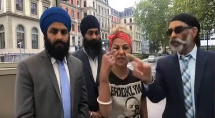 Hard Kaur Supports Khalistan Movement