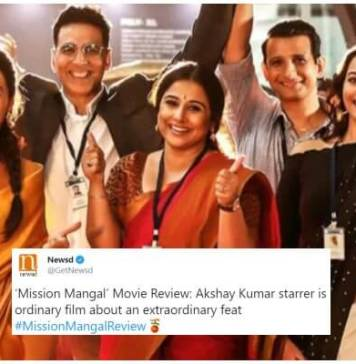 Mission Mangal Twitter Review
