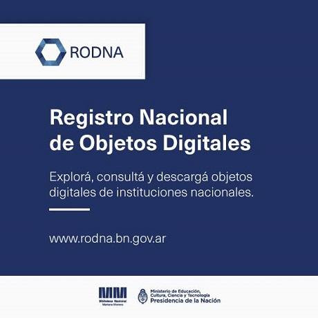 RODNA - Registro Nacional de Objetos Digitales de la Biblioteca Nacional Mariano Moreno