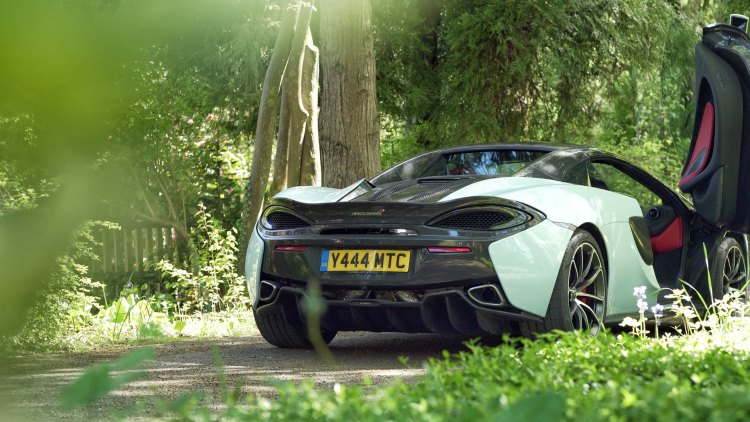 Filming a car: McLaren 570S in the New Forest