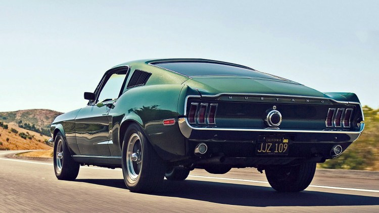 1968 Ford Mustang GT 390 in Highland Green