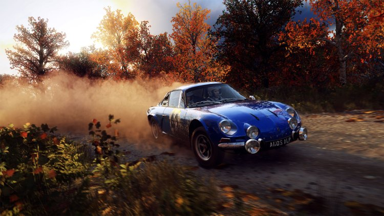 Dirt Rally 2.0 review: Alpine A110 in action