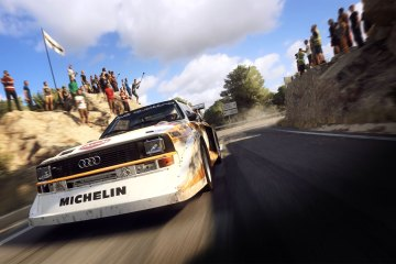 DiRT Rally review: The mighty Audi Quattro from the Group B rally days