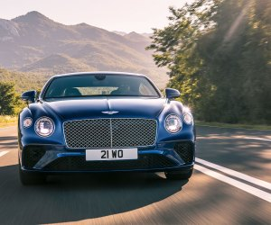 Bentley Continental GT review (2019): Front view