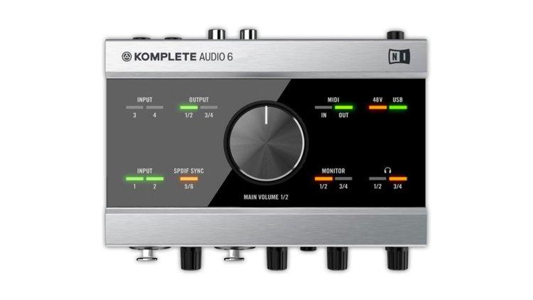 Native Instruments Komplete Audio 6 (main panel)