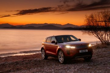 Range Rover Evoque 2019 review: Greek sunset