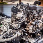 Ford Ranger Raptor chassis and engine