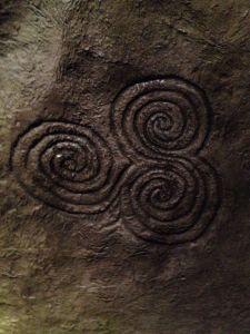 triskele, tri-spiral