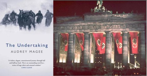The Undertaking by Audrey Magee (Atlantic Books). The Brandenburg Gate.