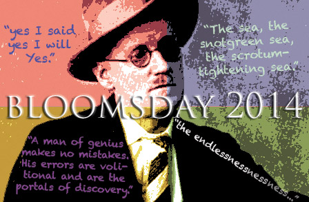 James Joyce Bloomsday 2014