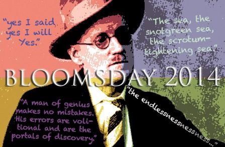 James Joyce Bloomsday 2014