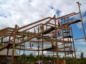 Tayto Park Skywalk