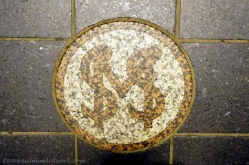 Elevator floor tile / Soldiers and Sailors Monument (Indianapolis).