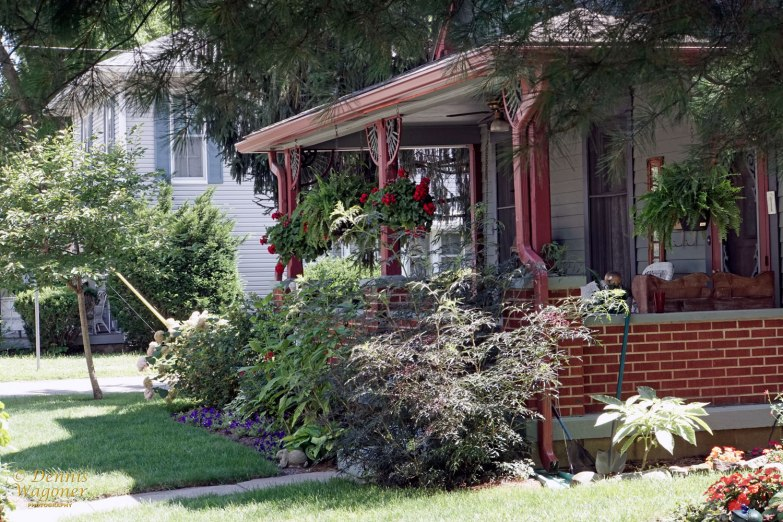 Old style porch