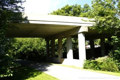 Trail underneath Hwy 267