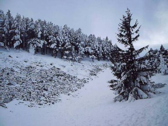 Subir al Moncayo en invierno