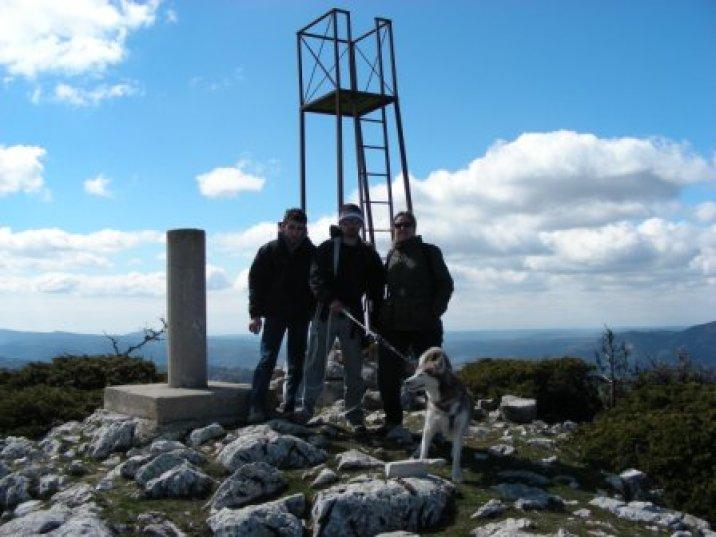 Cumbre del Cerro Mogorrita