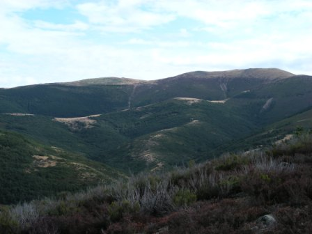 Vistas desde Pineda de la Sierra