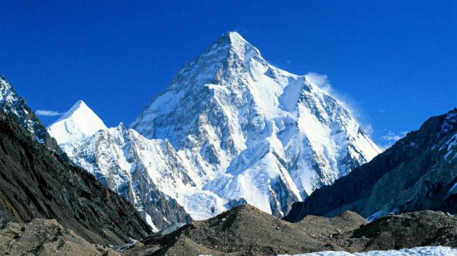 Imagen del K2 segunda montaña más alta delmundo