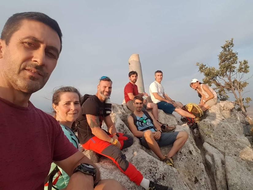 Grupo en la Cumbre