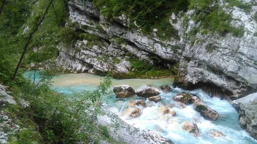 Eslovenia en Furgoneta rio soka