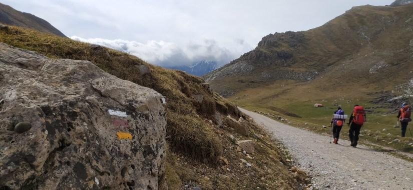 Camino por Picos de Europa
