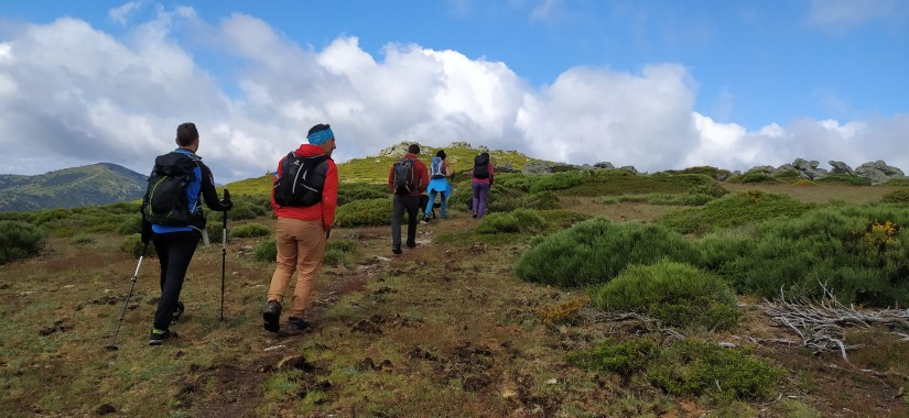 Salimos de Cerro Minguete