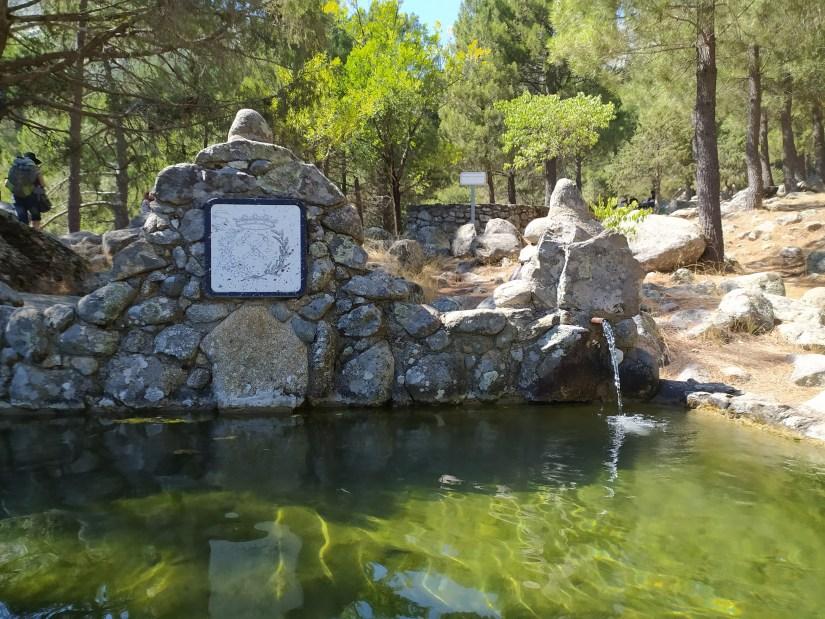 Fuente nogal del Barranco