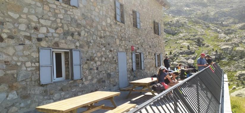Terraza en Pirineos