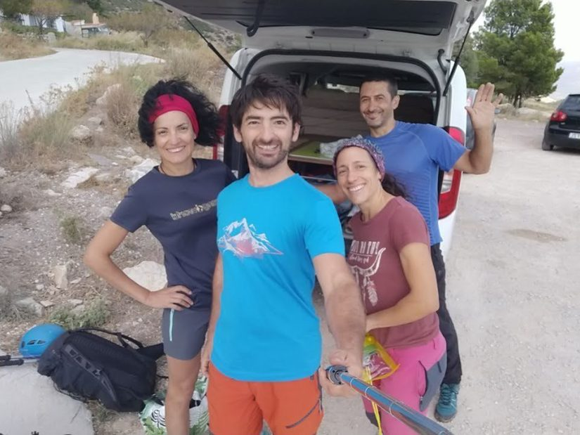 Grupo en Cresta de Bernia
