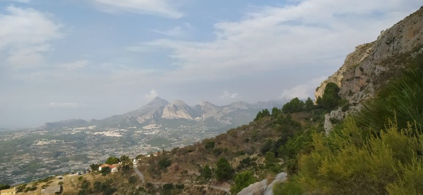 Vistas de la Cresta de Bernia