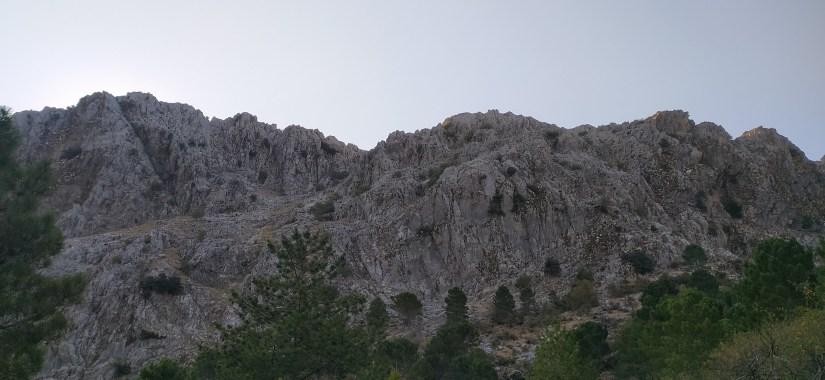 Vista de la cresta